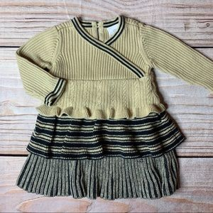 Hanna Andersson baby sweater dress size 70